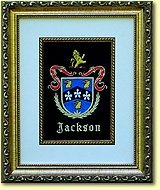 embroidered single coa